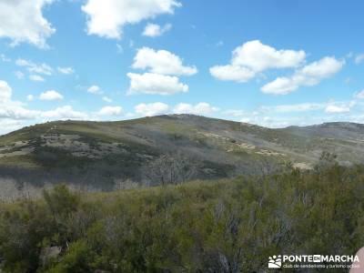 Pico Rocigalgo - Cascada del Chorro [Parque Nacional de Cabañeros] canto cochino la pedriza rutas